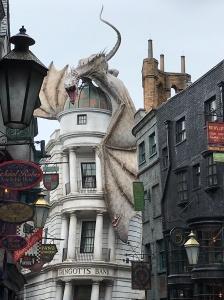 Harry Potter Gringottsin Hogwarts Universal Studios